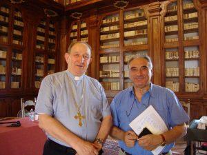 Giustino Farnedi OSB e Antonio Rigon