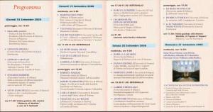 Programma San Benedetto Po 2008- comunicazioni