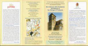 Programma San Benigno di Fruttuaria 2006
