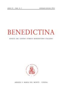Benedictina 2014_1_cop