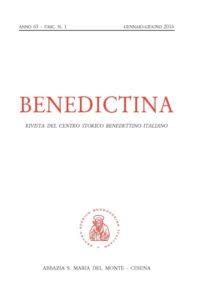 Benedictina 2016_1_cop